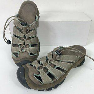 Keen Whisper Slide Sandals Slip On Shoes Wm Sz 6